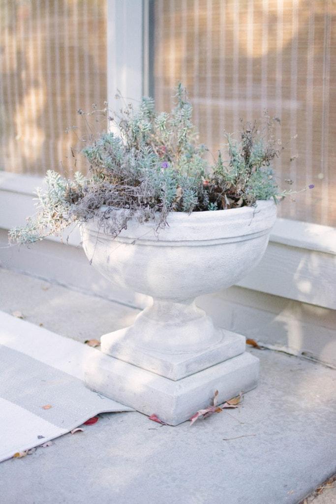 Patio Planters - Neutral Home Tour - Life On Virginia Street