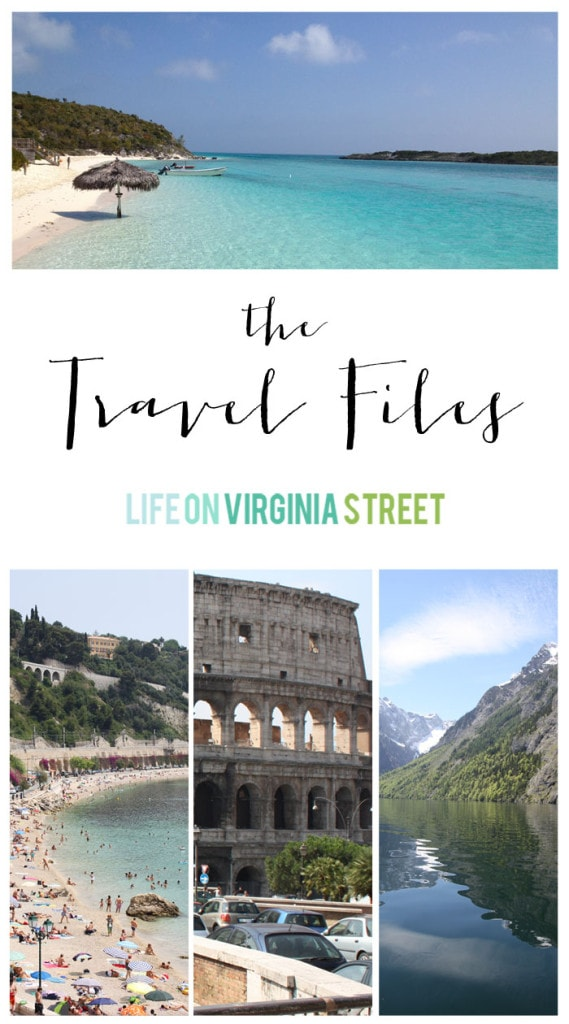 Travel Files - Life On Virginia Street
