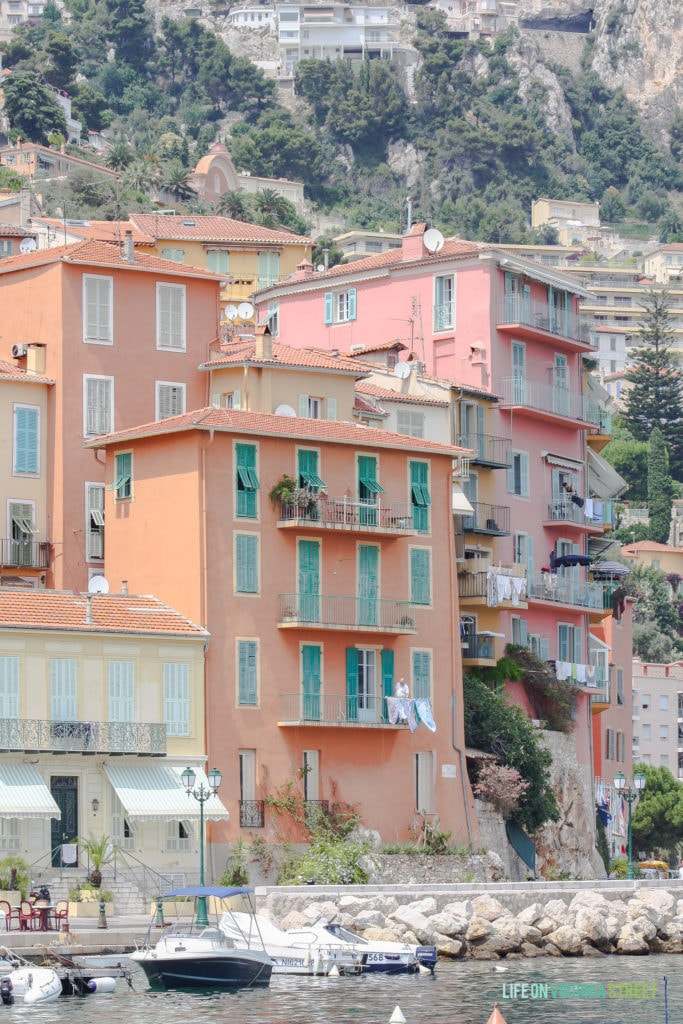 Villefranche Port in France
