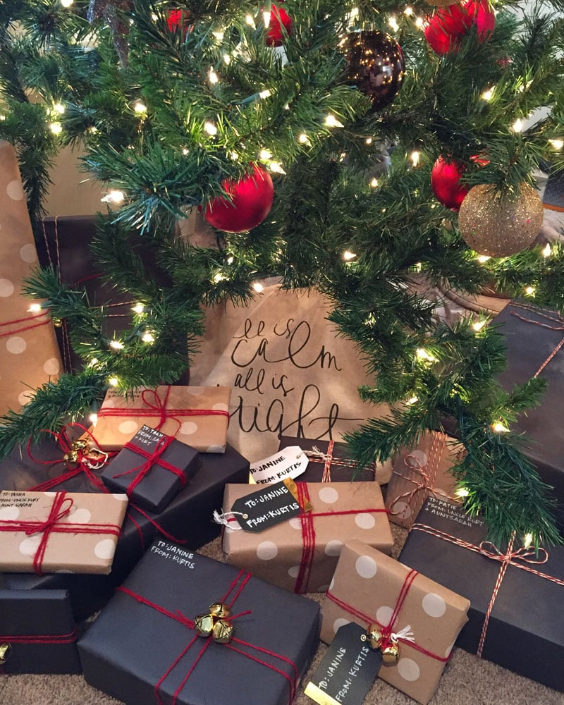 Christmas Gift Wrap 2015 - Life On Virginia Street