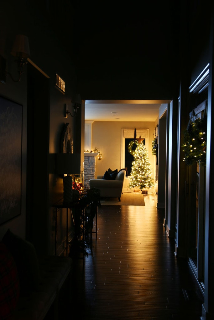Christmas Hallway at Night - Life On Virginia Street