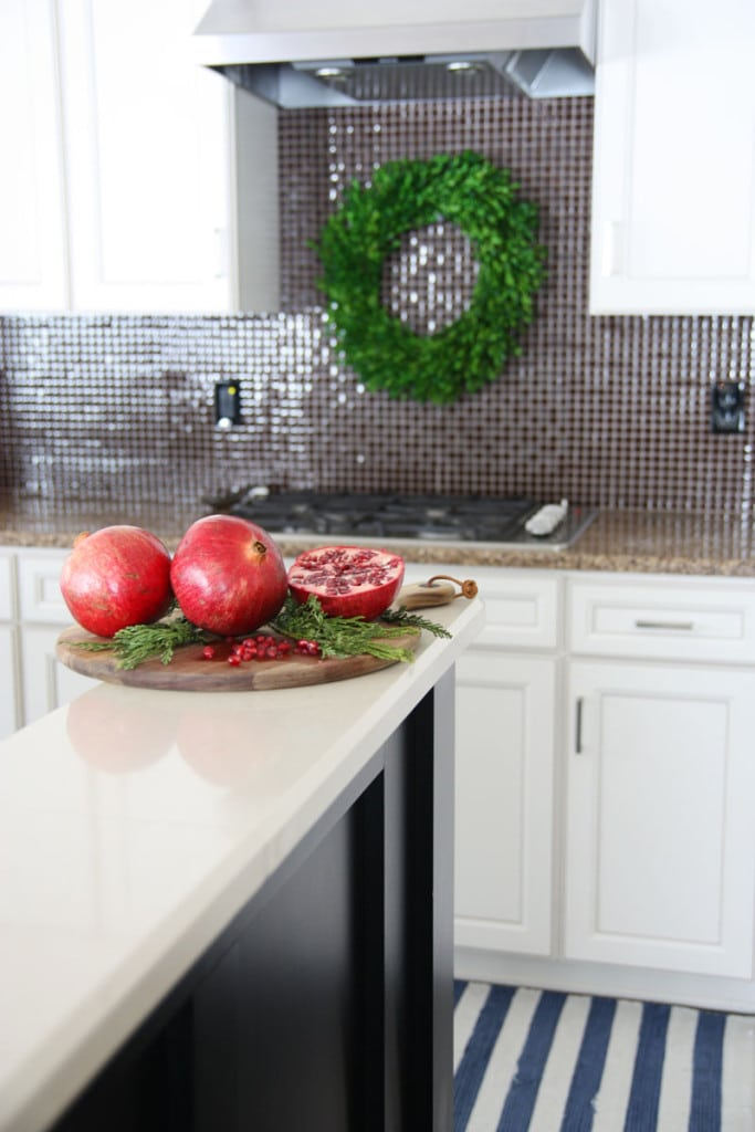 Christmas Kitchen Pomegranate - Life On Virginia Street