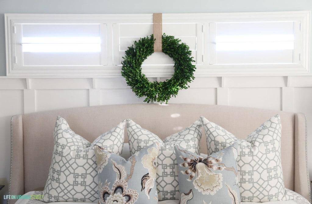 Christmas Master Bedroom - Life On Virginia Street