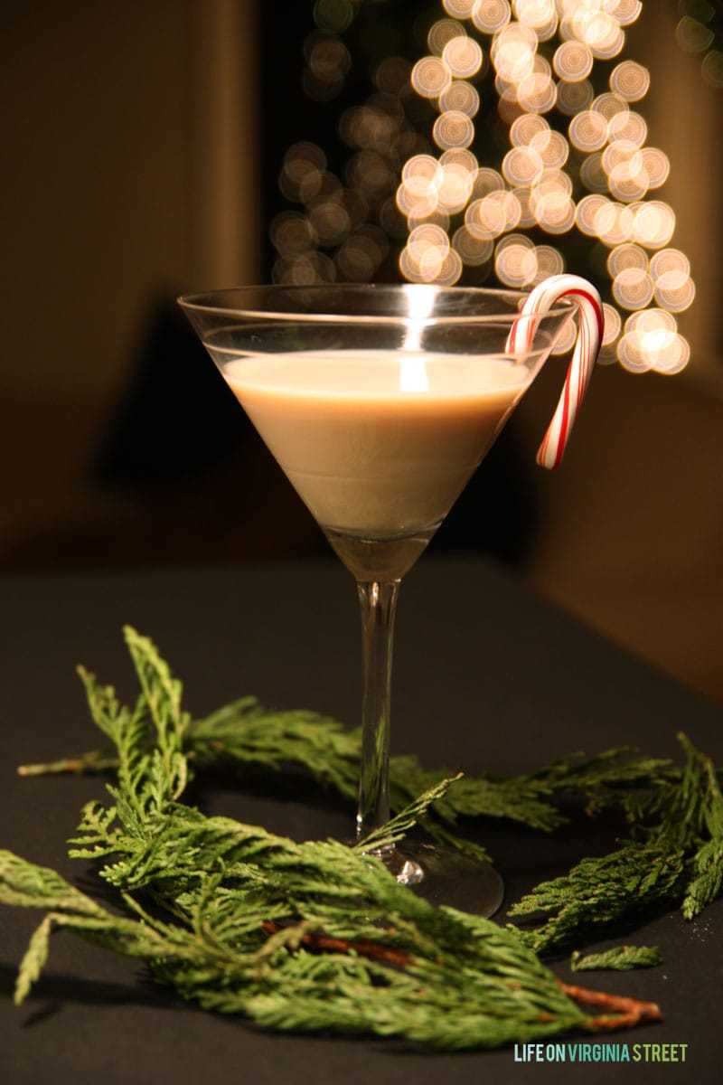 Easy Peppermint Mocha Martini