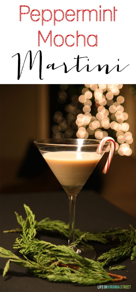 Easy Peppermint Mocha Martini Recipe - Life On Virginia Street