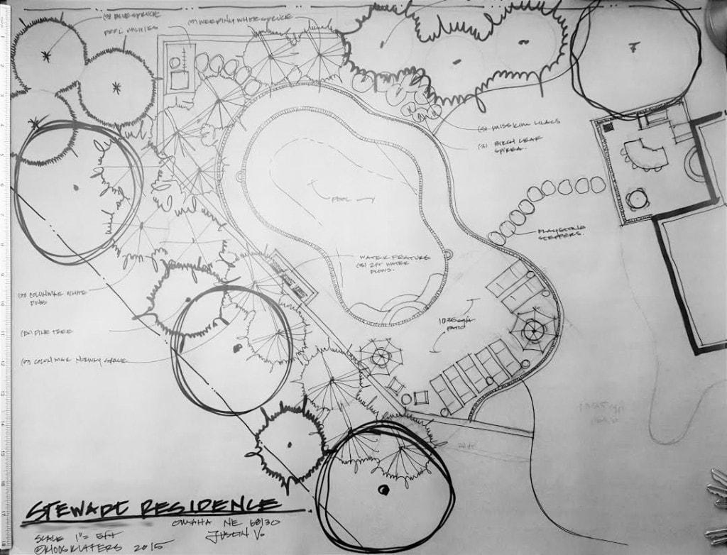 Pool Plans - Life On Virginia Street