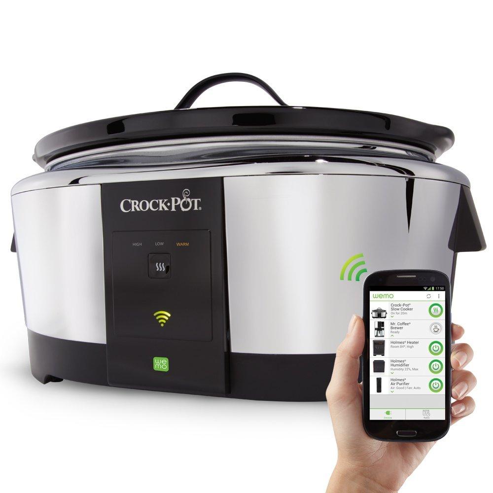 Wi-Fi Enabled Crock-Pot