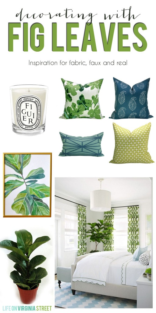 Decorating With Fig Leaves poster.