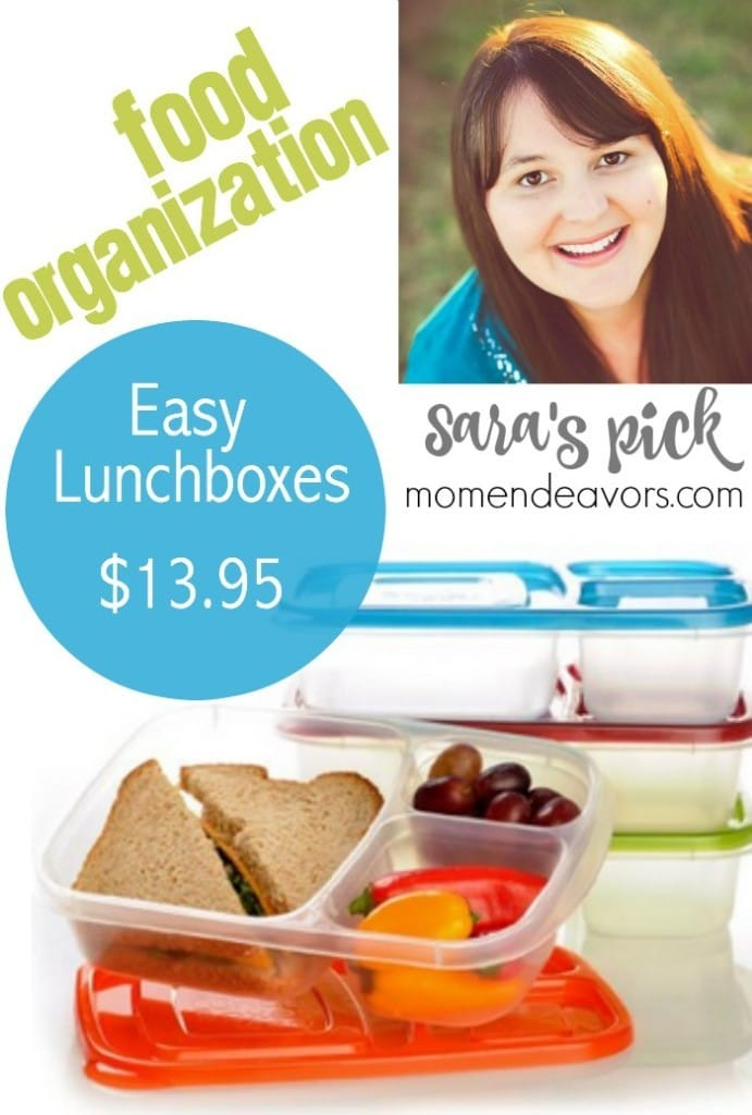 Food Organization - Easy Lunchboxes