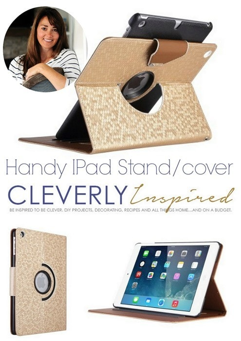 Handy iPad Stand and Cover