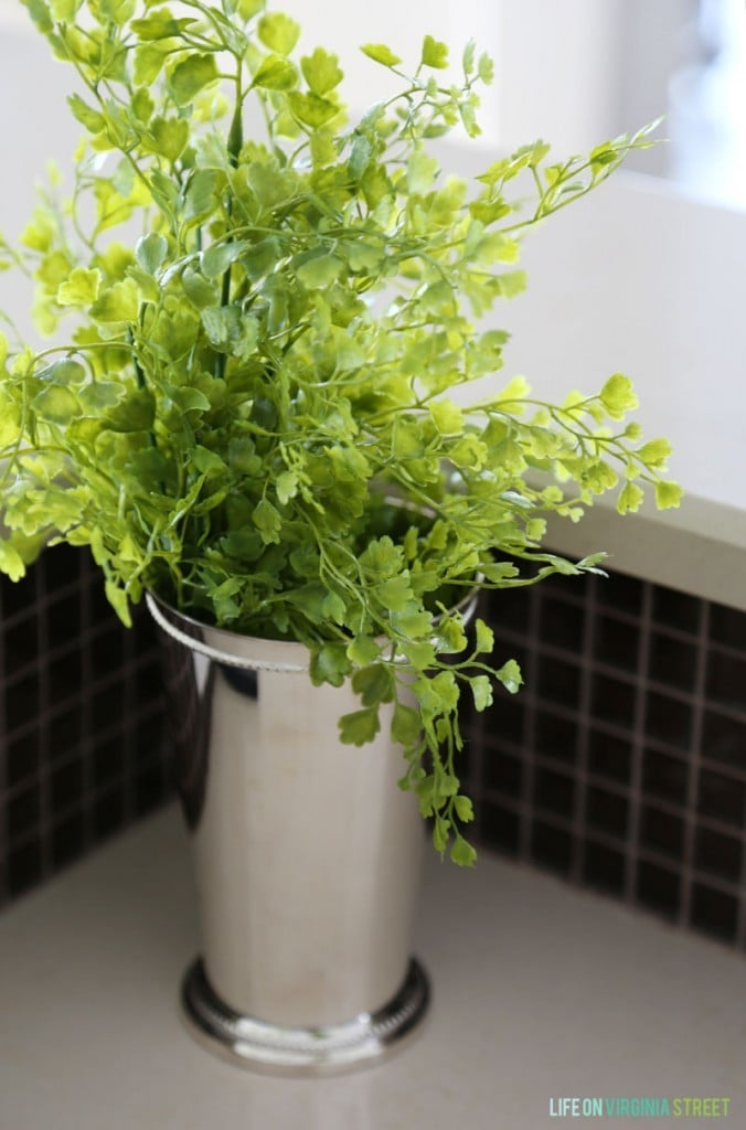Kitchen Maidenhair Faux Fern - Life On Virginia Street