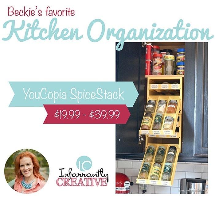 Kitchen Organization - SpiceStack