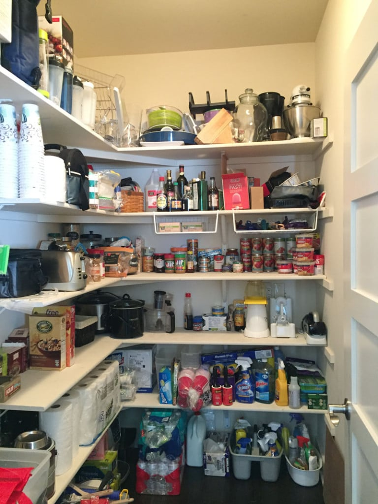 New Years Pantry Clean