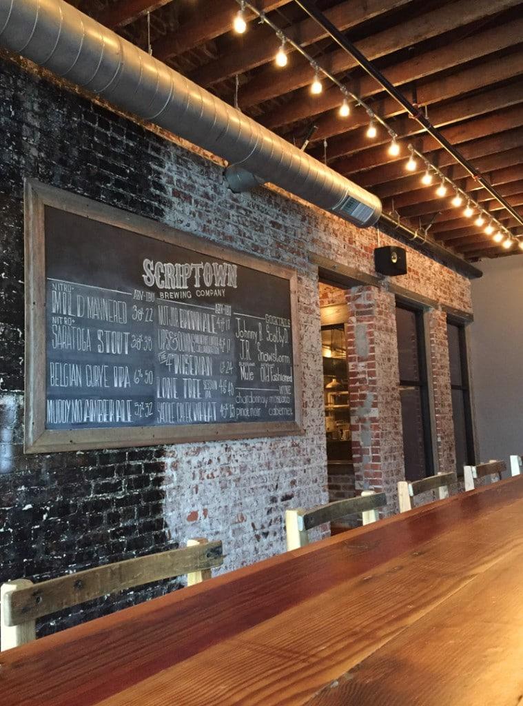 Scriptown Brewing Omaha Menu
