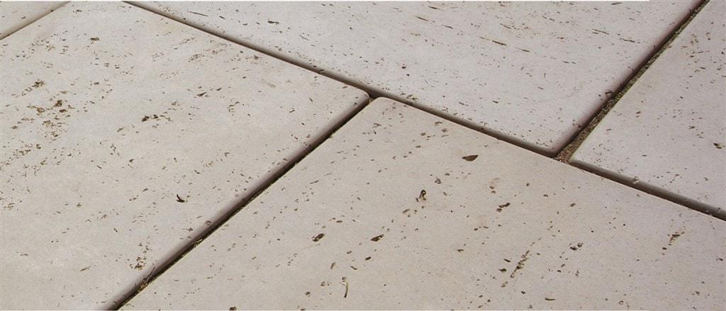 Antique Travetine Concrete Close-up via Rochester Concrete Products