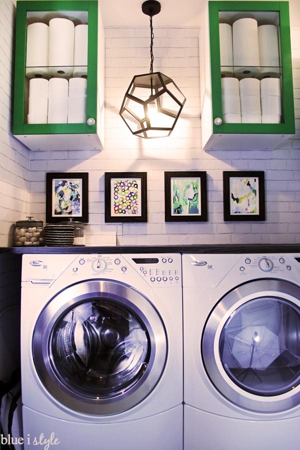 Blue i Style - LaundryClosetMakeover