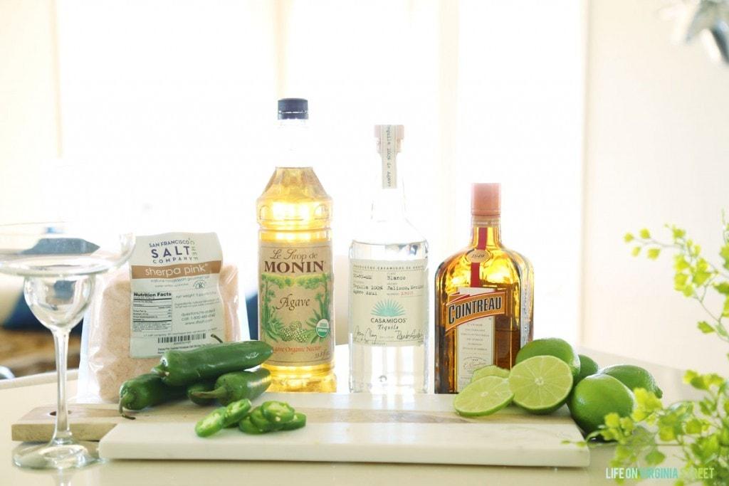 Jalapeno Lime Margarita Recipe - Ingredients