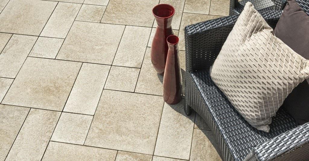 Umbriano Patio Closeup via Unilock