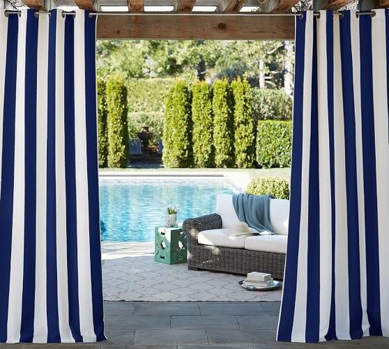 Outdoor Cabana Curtains Diy Outdoor Cabana With Curtains