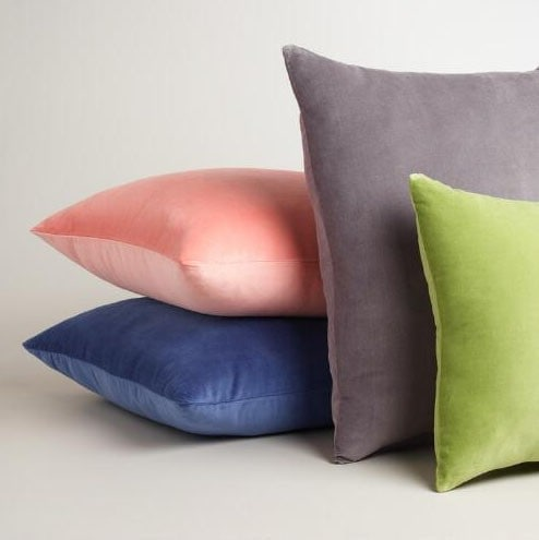 Colorful Velvet Pillow Covers
