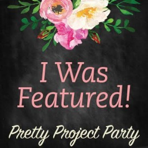 I was featured at the Pretty Project Party