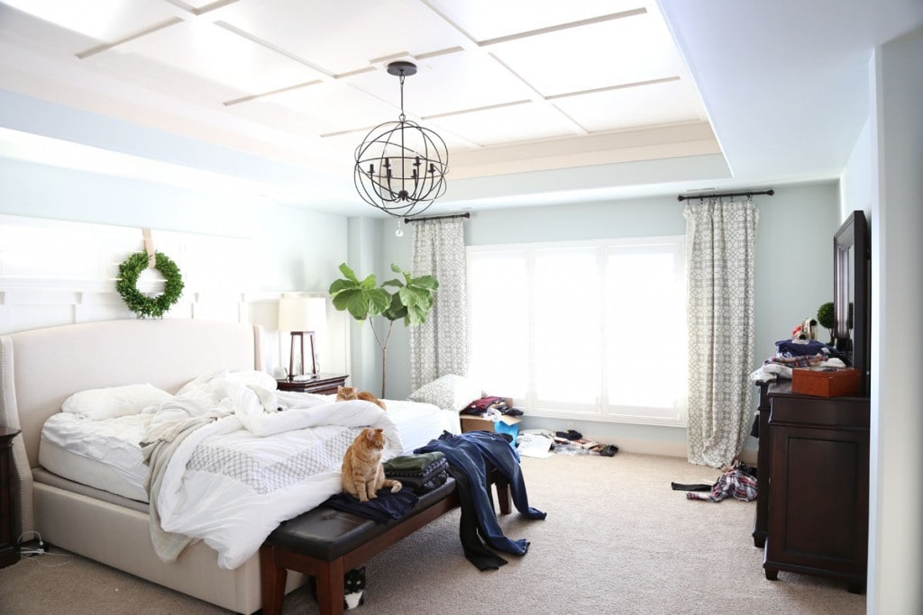 Master Bedroom - Real Life Home Tour