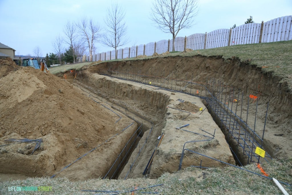 Retaining Wall Footers