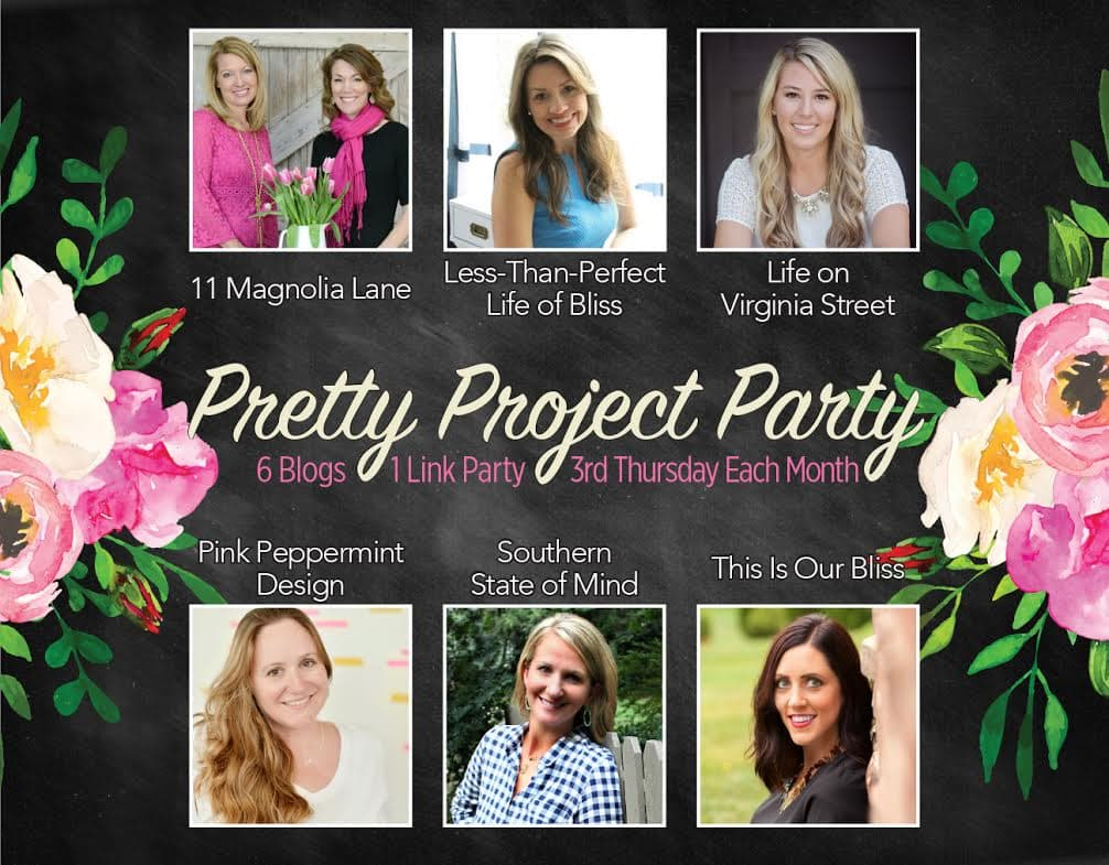 April pretty project party features life on virginia street for Pretty project