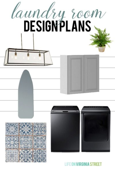 One Room Challenge: Laundry Room Makeover Week 6