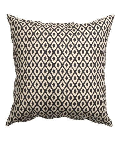 Charcoal Pillow Cover