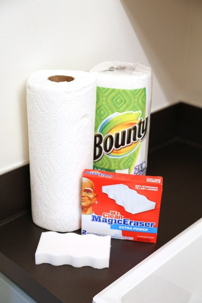 Cleaning Supplies for Laundry Room Makeover