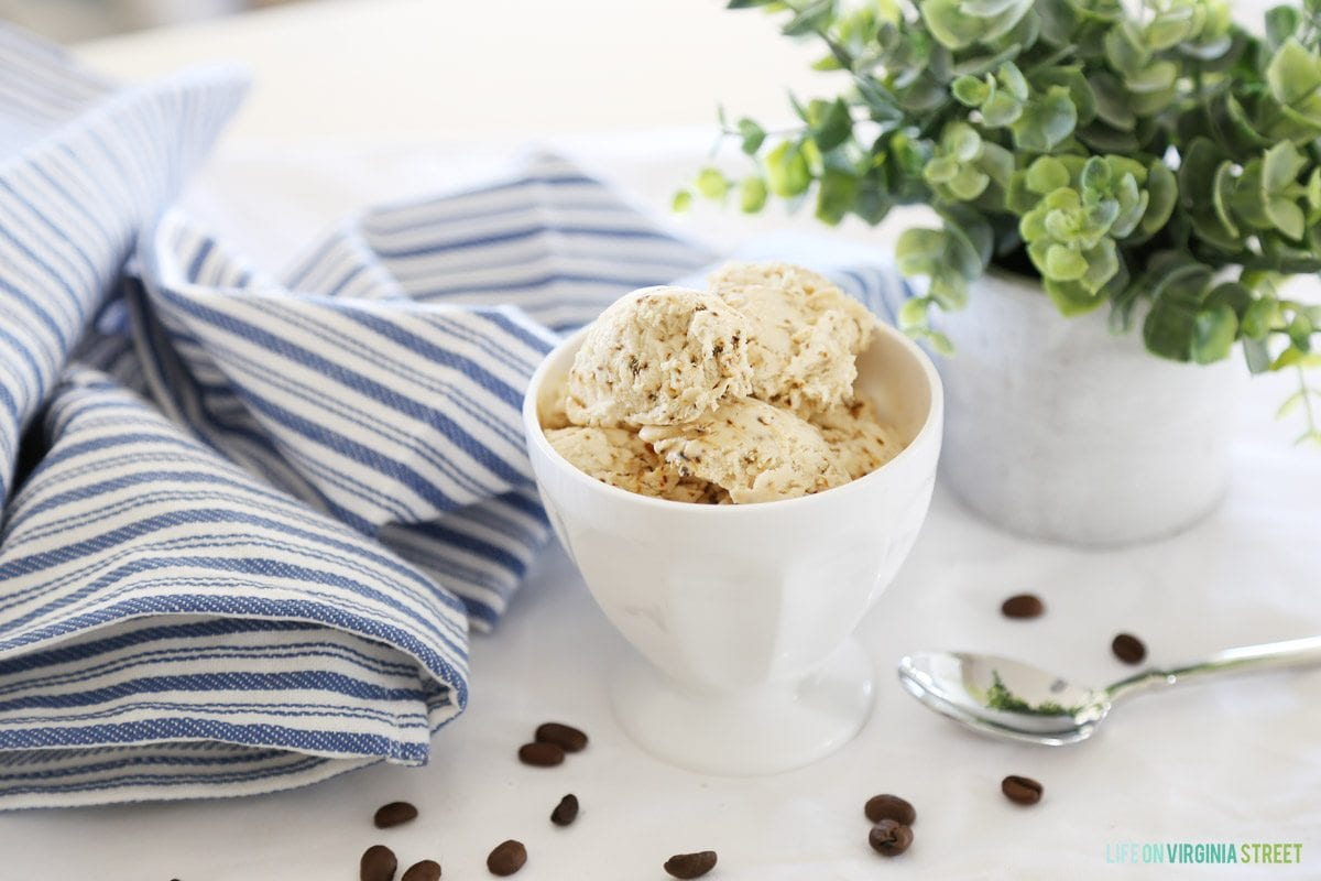 5-Minute Coffee Ice Cream Recipe