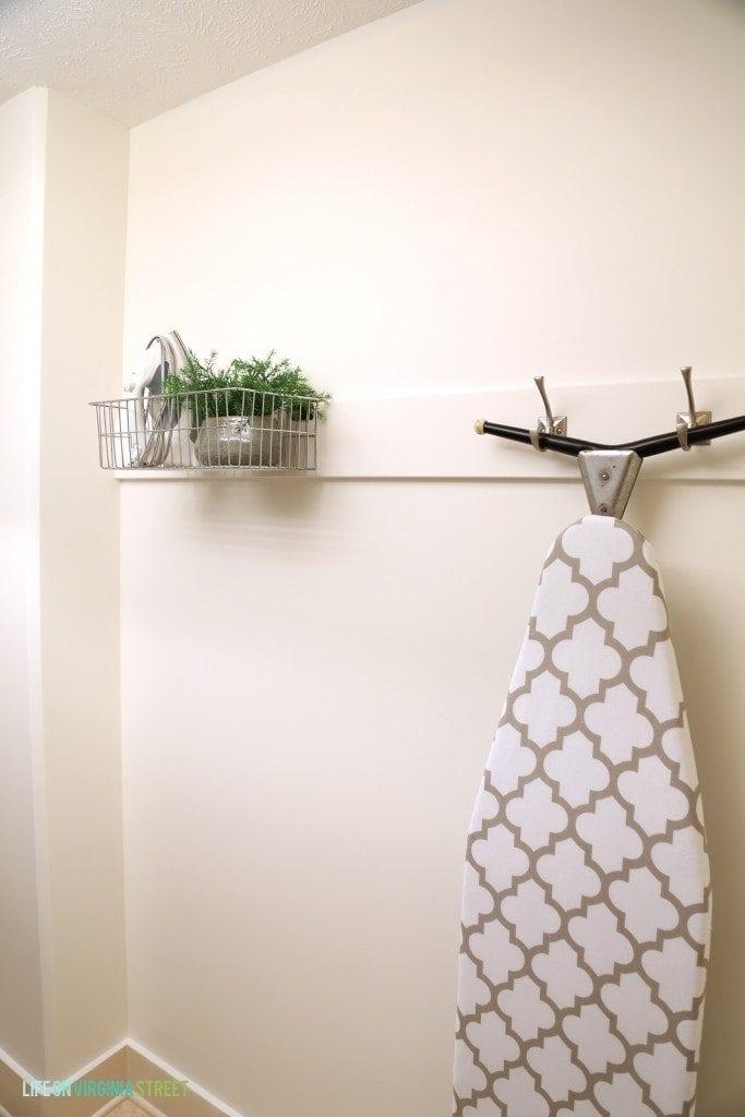 Iron and Ironing Board Storage - Life On Virginia Street