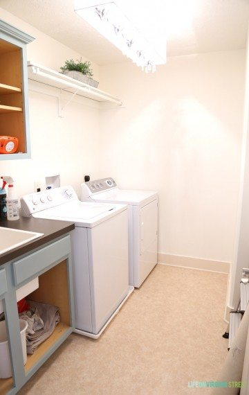 One Room Challenge: Laundry Room Makeover Week 2