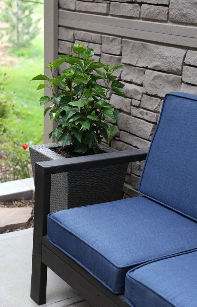 Courtyard Navy Cushions from At Home