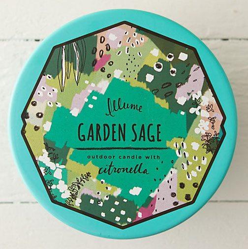 Garden Sage Outdoor Candle
