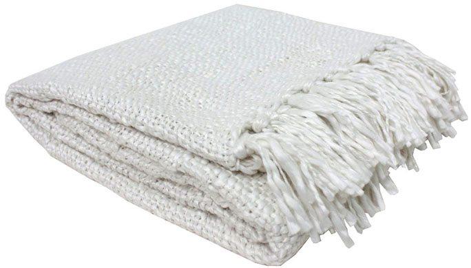Ivory Throw Blanket