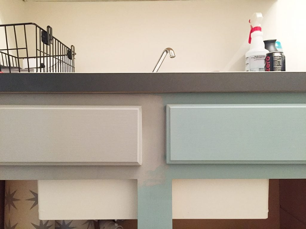 Laundry Room Cabinet Paint