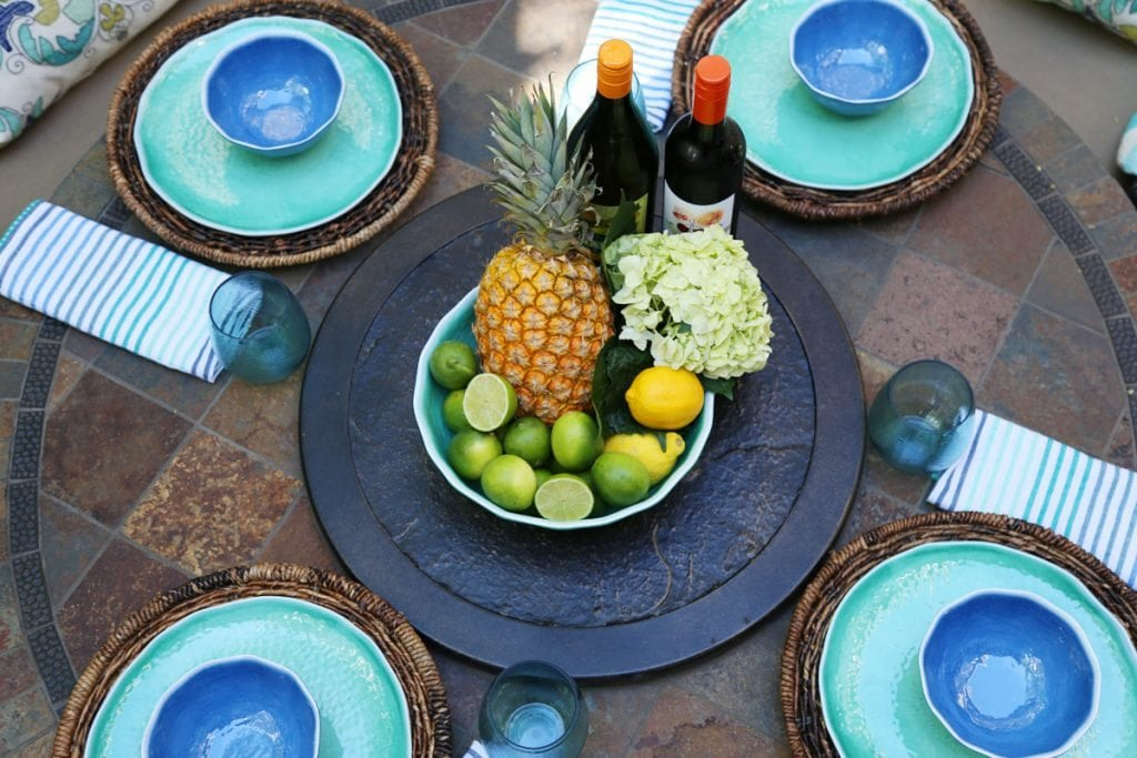 Outdoor Dinner Party with World Market
