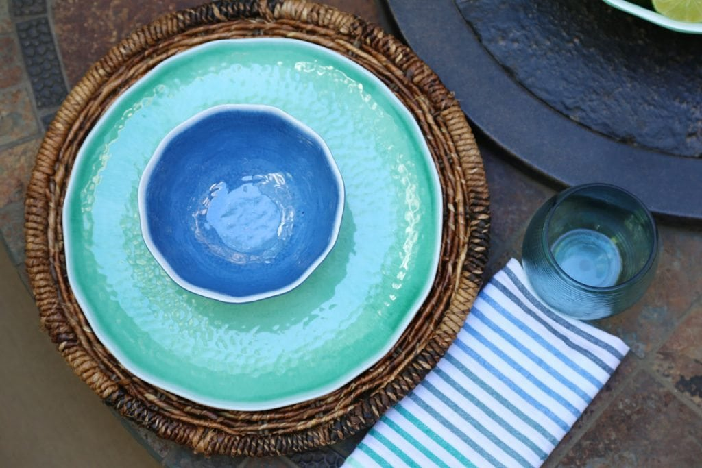 Outdoor Melamine Dinner Set