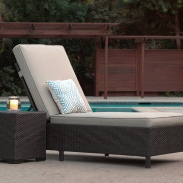 Serta Outdoor Chaise Lounge
