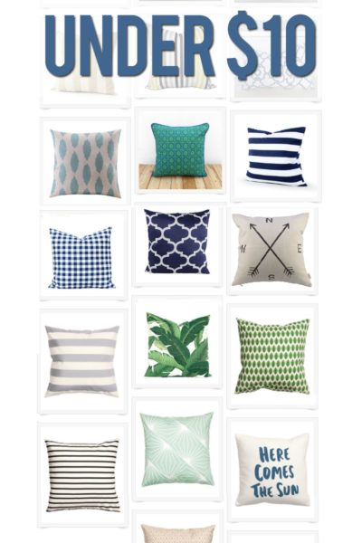 Stylish Throw Pillows Under $10