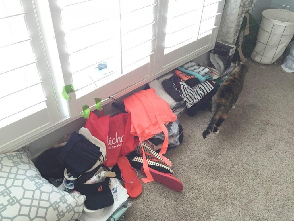 Suitcase Piles