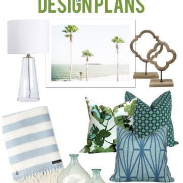 Summer Living Room Design Plans via Life On Virginia Street