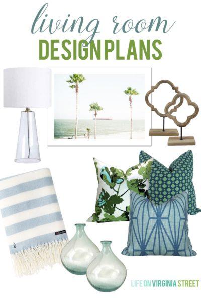 Living Room Design Plans