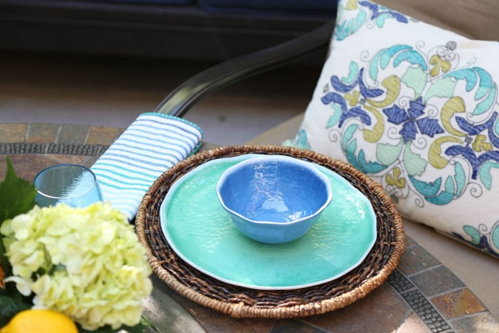 World Market Outdoor Place Setting