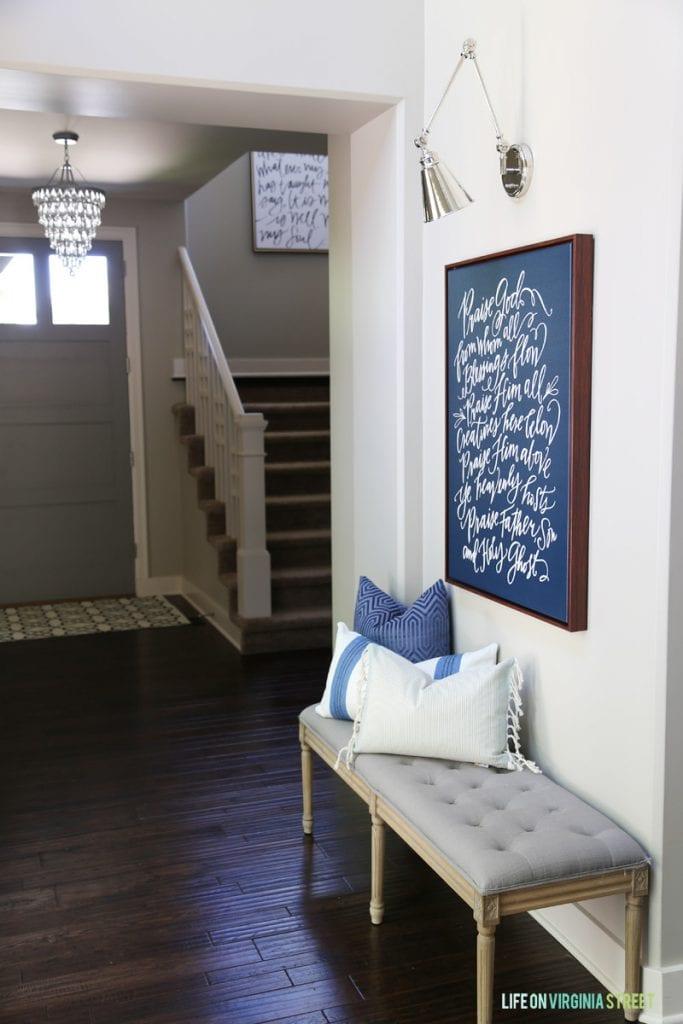 New Swing Arm Hallway Sconces Life On Virginia Street
