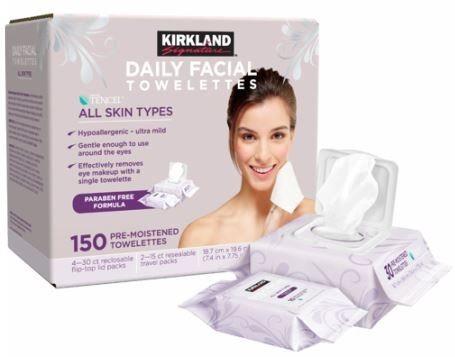 Kirkland's Daily Facial Towelettes