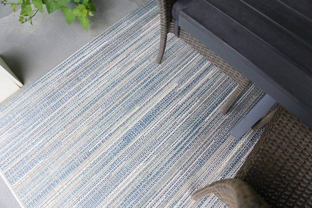 Patio Rug Details via Life On Virginia Street