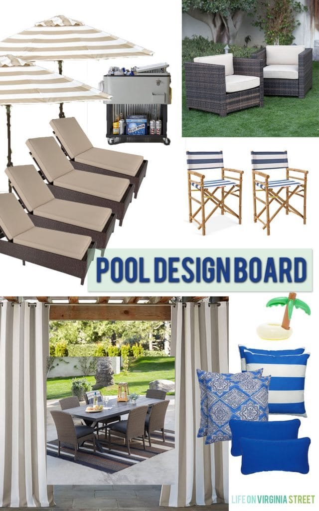 Pool Design Board - Life On Virginia Street
